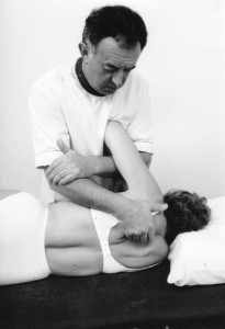 Soft tissue to the scapula muscles